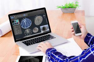 CAD Software Laptop